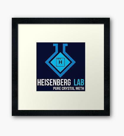 Heisenberg Lab Framed Print