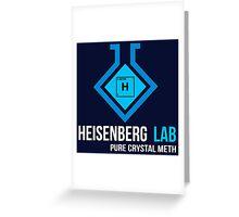 Heisenberg Lab Greeting Card