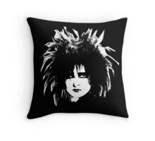 Siouxsie Sioux Throw Pillow