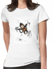 Borderlands 2 - Chibi Gunzy! Womens Fitted T-Shirt