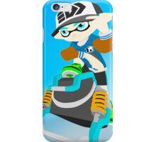 Splatoon - Inkling with Slosher iPhone Case/Skin