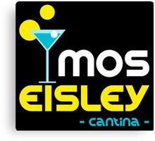 Mos Eisley Cantina Canvas Print