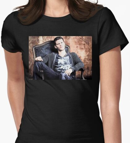 Klaus Womens Fitted T-Shirt