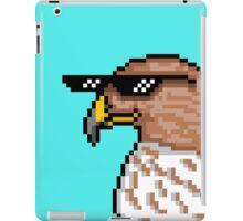 Hawk with Shades iPad Case/Skin