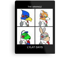 The Arwingz -Lylat Days- Metal Print