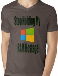 Hostage Mens V-Neck T-Shirt