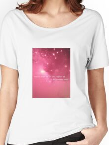 You'll find me in the region of the summer stars Women's Relaxed Fit T-Shirt