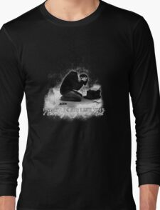 Alan Wake 'I can't going like this....' - black version Long Sleeve T-Shirt