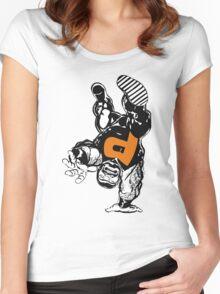 puck alpha flight Women's Fitted Scoop T-Shirt