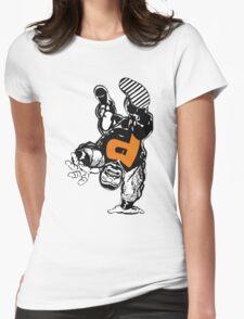 puck alpha flight Womens Fitted T-Shirt