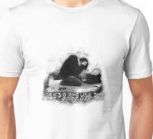 Alan Wake 'I can't going like this....' - white version Unisex T-Shirt