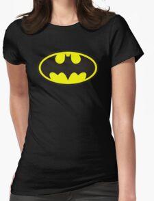 Classic Bat Logo Womens Fitted T-Shirt