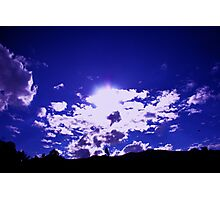 Blue Sky over Tidbinbilla Photographic Print
