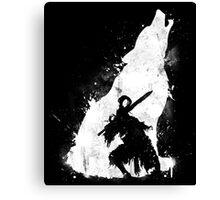 The walker of abyss Canvas Print