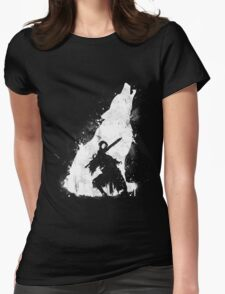 The walker of abyss Womens Fitted T-Shirt