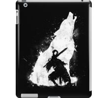 The walker of abyss iPad Case/Skin