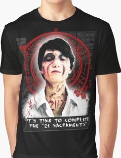"""Silent Hill - It's time to complete the """"21 Sacraments"""" Graphic T-Shirt"""