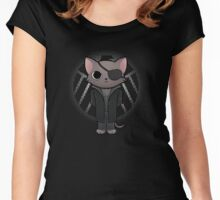 Cat Fury Women's Fitted Scoop T-Shirt