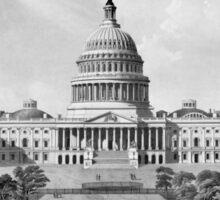 US Capitol Building Sticker