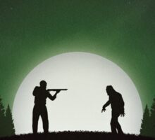 Night of the Living Dead (Green Version) Sticker