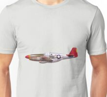Vintage P-51 Mustang Tuskegee Airmen World War II Unisex T-Shirt