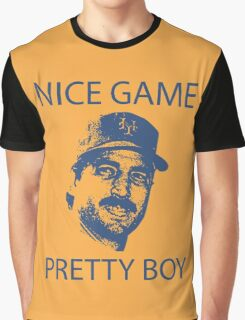 Nice Game Pretty Boy Keith Hernandez Graphic T-Shirt