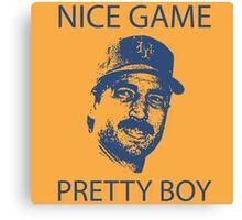 Nice Game Pretty Boy Keith Hernandez Canvas Print