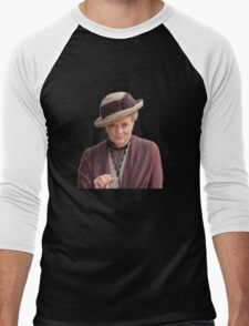 Lady Violet is my queen Men's Baseball ¾ T-Shirt