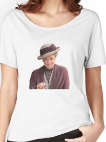 Lady Violet is my queen Women's Relaxed Fit T-Shirt