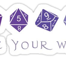 Choose Your Weapon | RPG Sticker