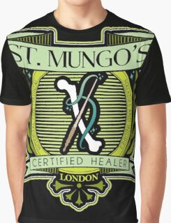 St. Mungo's Certified Healer Graphic T-Shirt