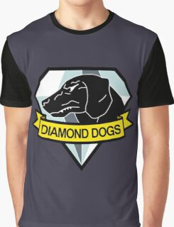 Metal Gear Solid - Diamond Dogs Emblem Graphic T-Shirt