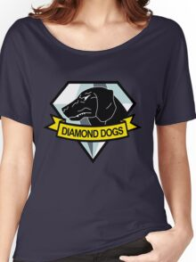Metal Gear Solid - Diamond Dogs Emblem Women's Relaxed Fit T-Shirt