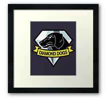 Metal Gear Solid - Diamond Dogs Emblem Framed Print