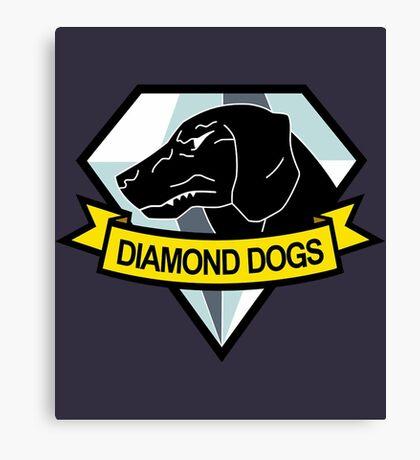 Metal Gear Solid - Diamond Dogs Emblem Canvas Print