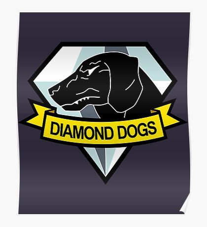 Metal Gear Solid - Diamond Dogs Emblem Poster