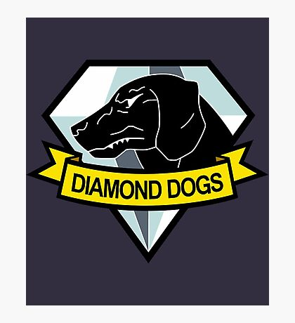 Metal Gear Solid - Diamond Dogs Emblem Photographic Print