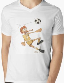 Goal! Mens V-Neck T-Shirt