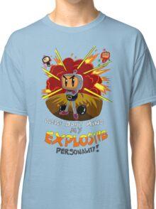 Bomberman's Explosive Personality Classic T-Shirt