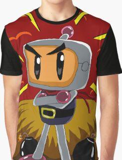 Bomberman's Explosive Personality Graphic T-Shirt