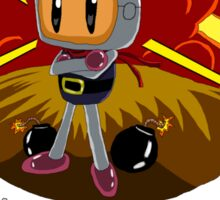 Bomberman's Explosive Personality Sticker