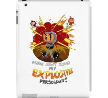 Bomberman's Explosive Personality iPad Case/Skin