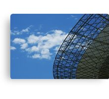 Parkes Dish in January Canvas Print