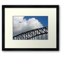 Bridge Walkers Framed Print