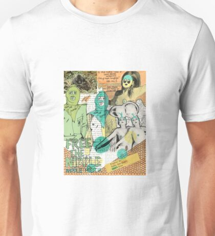 The Nipple Liberation Front Unisex T-Shirt