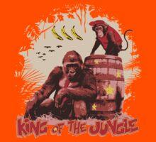 Donkey Kong - King of the Jungle Kids Tee