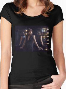 Aubrey 5 Women's Fitted Scoop T-Shirt