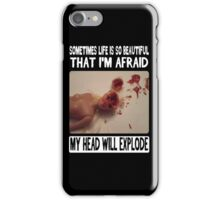 Funny Barbie- Beautiful Fear iPhone Case/Skin