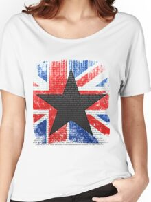David Bowie Tribute Women's Relaxed Fit T-Shirt