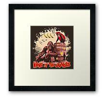 Donkey Kong - King of the Jungle Framed Print